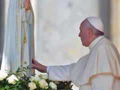 ファティマの聖母と教皇フランシスコ