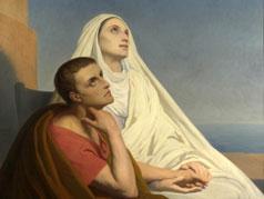 アイキャッチ用 聖アウグスティヌスと聖モニカ
