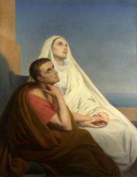 聖アウグスティヌスと聖モニカ