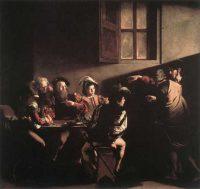 聖マタイの召命(カラヴァッジョ画)