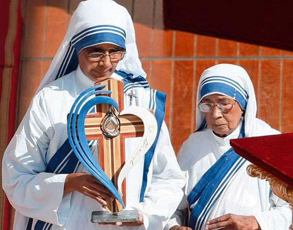 マザー・テレサの聖遺物箱