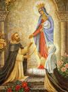 ご絵「聖ドミニコにロザリオを与える聖母」
