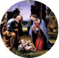 幼子キリストの礼拝(フラ・バルトロメオ画)