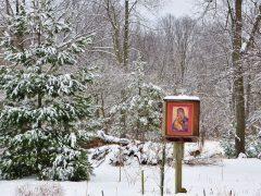 雪の聖母のイコン