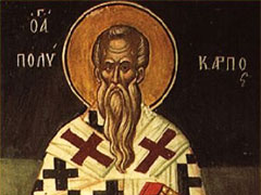 アイキャッチ用 聖ポリカルポ司教殉教者