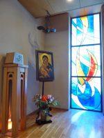 メリノール宣教会本部聖堂のご聖櫃と聖母のイコン