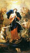 ご絵「結び目を解く聖母マリア」