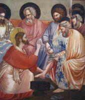 主の洗足(ジョット画)