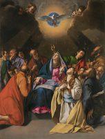 聖霊降臨(フアン・バティスタ・マイノ修道士画) © Museo Nacional del Prado