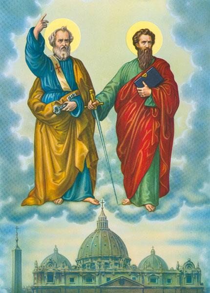 2017年6月29日(聖ペトロ 聖パウロ使徒の祭日)のミサの第2朗読
