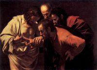 聖トマスの懐疑(カラヴァッジョ画)