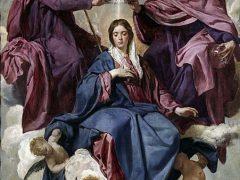 天の元后聖マリア
