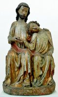 キリストの胸に頭を預ける使徒ヨハネ(ベルリン・ボーデ博物館)