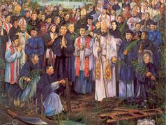 アイキャッチ用 聖アンデレ・ジュン・ラクと同志殉教者