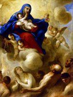 聖母子と煉獄の霊魂(ルカ・ジョルダーノ画)