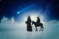 聖ヨセフと聖マリア