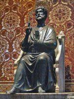 聖ペトロ像(バチカン)