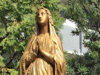 上野教会の聖母像