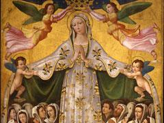 アイキャッチ用 いつくしみの聖母(ヤコポ・ベルトイア画)