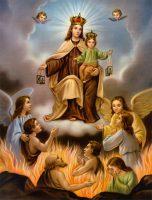 煉獄の霊魂を解放する聖母マリア