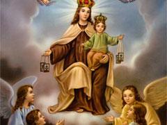アイキャッチ用 煉獄の霊魂を解放する聖母マリア