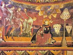 アイキャッチ用 石打ちにされる聖ステファノ