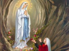 アイキャッチ用 ルルドの聖母