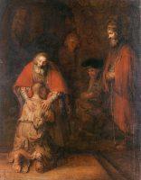 放蕩息子の帰還(レンブラント画)