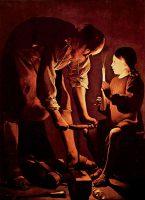 聖ヨセフ(ジョルジュ・ド・ラ・トゥール画)