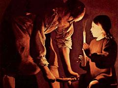 アイキャッチ用 聖ヨセフ(ジョルジュ・ド・ラ・トゥール画)