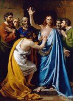 聖トマの懐疑(フランソワ=ジョセフ・ナヴェス画)