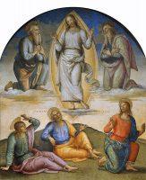 主の変容(ピエトロ・ペルジーノ画)