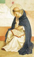 聖ドミニコ司祭(フラ・アンジェリコ画)