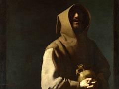 アイキャッチ用 アシジの聖フランシスコ(スルバラン画)