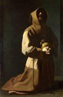 アシジの聖フランシスコ(フランシスコ・デ・スルバラン画)