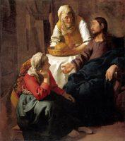マリアとマルタの家のキリスト(フェルメール画)
