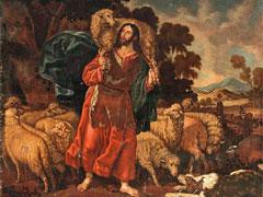 アイキャッチ用 善き牧者(クリストバル・ガルシア・サルメロン画)