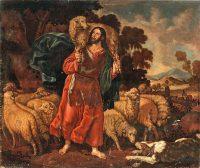 善き牧者(クリストバル・ガルシア・サルメロン画)