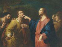 耳と口が不自由な人の癒し( Domenico Maggiotto 画)