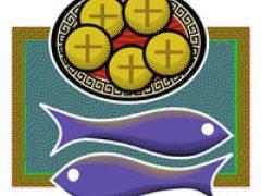 アイキャッチ用 5つのパンと2匹の魚