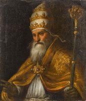 聖ピオ5世教皇(パルマ・イル・ジョーヴァネ画)