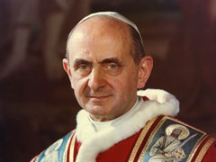 アイキャッチ用 聖パウロ6世教皇