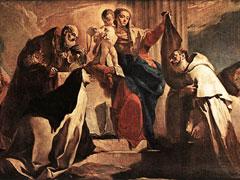 アイキャッチ用 カルメル山の聖母と煉獄の霊魂