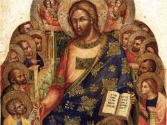 アイキャッチ用 聖ペトロに天国の鍵を渡すキリスト