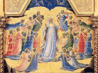 聖母の被昇天(聖遺物箱装飾画[フラ・アンジェリコ画])