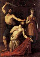 斬首される洗礼者聖ヨハネ(ファウスティーノ・ライネリ画)