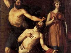 アイキャッチ用 斬首される洗礼者聖ヨハネ