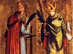 アイキャッチ用 聖コルネリオ教皇 聖チプリアノ司教殉教者