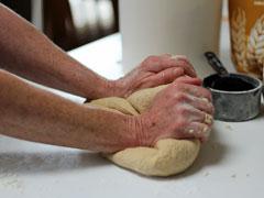 アイキャッチ用 パン作り