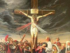 アイキャッチ用 「兵士の一人が槍でイエスの脇腹を刺した。すると、すぐ血と水とが流れ出た。」(ヨハネ19・34)